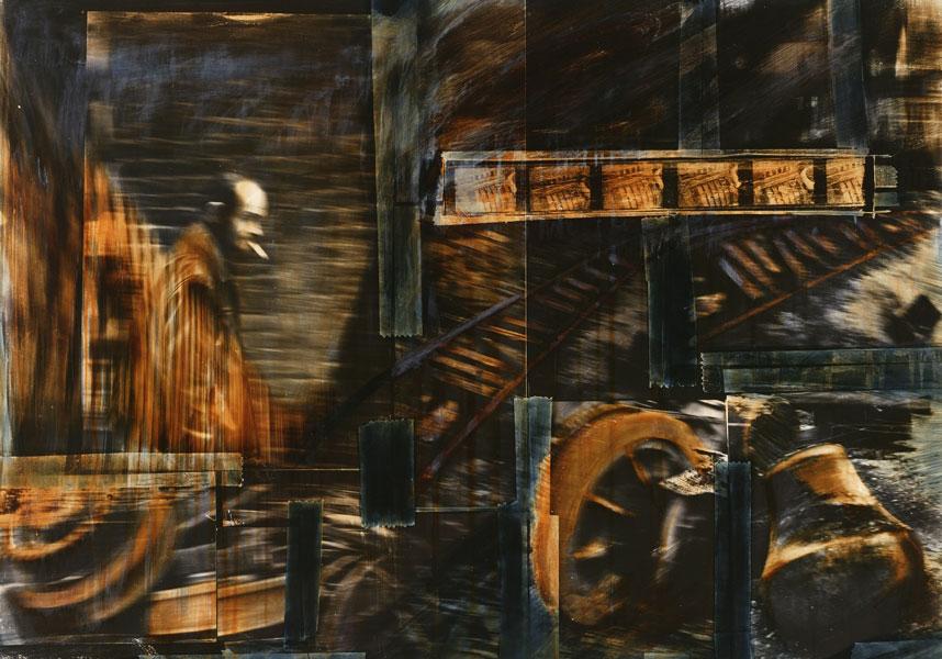 Reproduktion von Kunstwerken: Collage Eisenland (c) Torsten Warmuth
