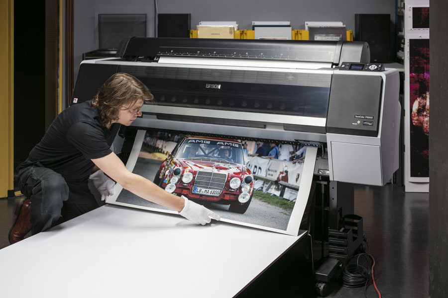 Print of a commercial work