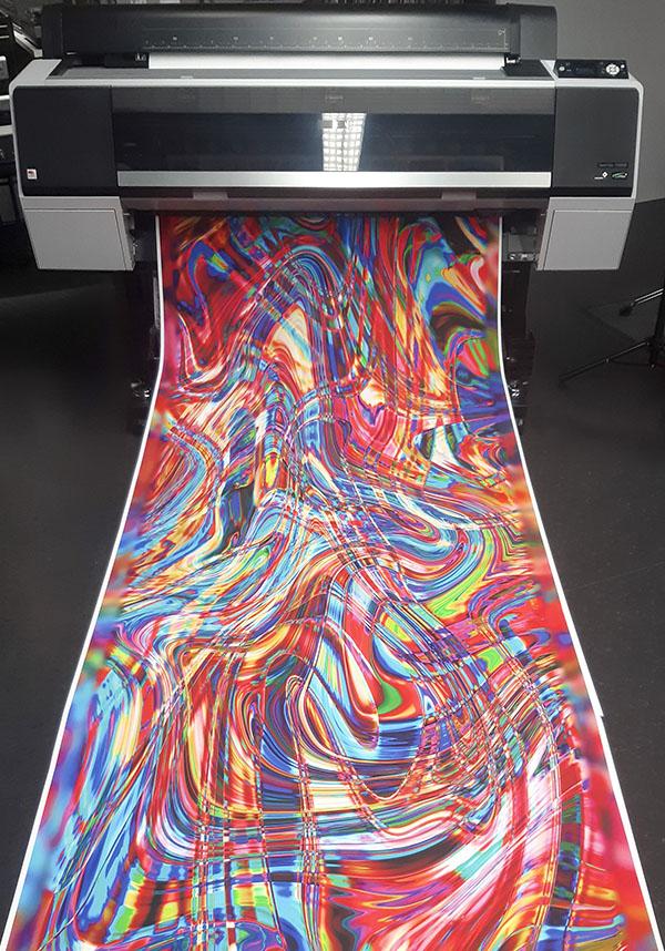 Großformatiger Print - Rollenware